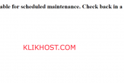 Cara Mengatasi Briefly Unavailable For Scheduled Maintenance Check back In a Minute pada WordPress
